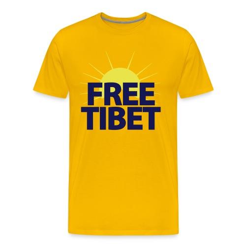 Free-Tibet Team Tibet - Männer Premium T-Shirt