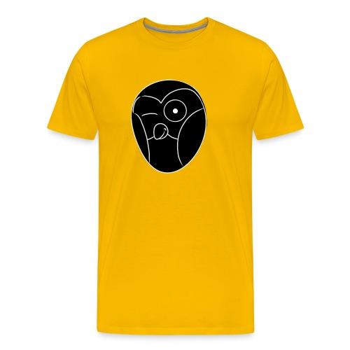 chouette noir - T-shirt Premium Homme