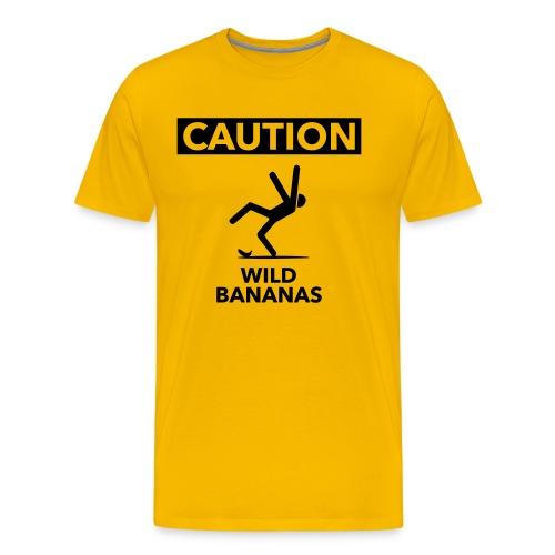 Wild Bananas - Mannen Premium T-shirt