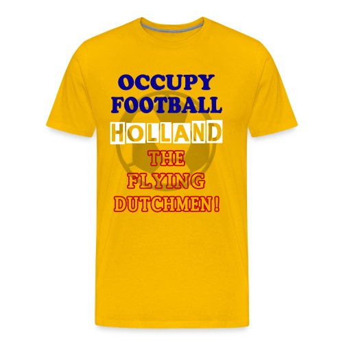 occupy football holland - Men's Premium T-Shirt