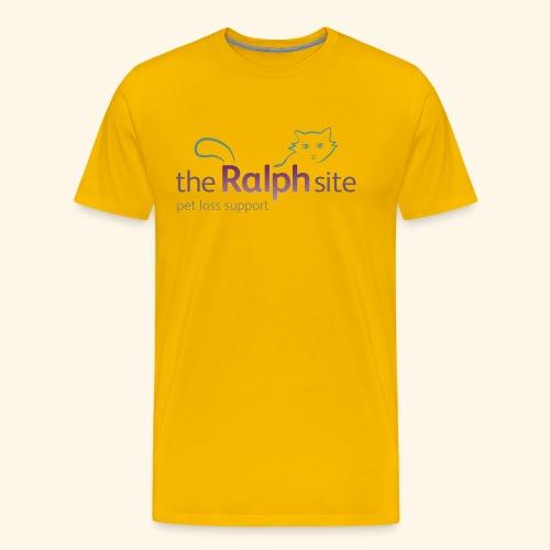 The Ralph Site, non-profit pet bereavement support - Men's Premium T-Shirt