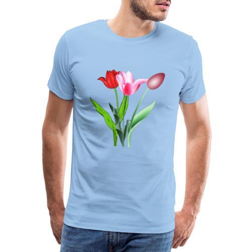 summer floral collection - Maglietta Premium da uomo