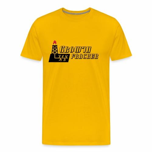 Growth Fracker - Men's Premium T-Shirt