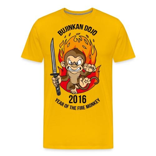 Fire monkey - Men's Premium T-Shirt