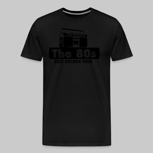 80er Jahre - Männer Premium T-Shirt