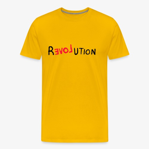 RLoveution - Herre premium T-shirt
