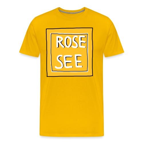 Logo voor druk op textiel - Mannen Premium T-shirt