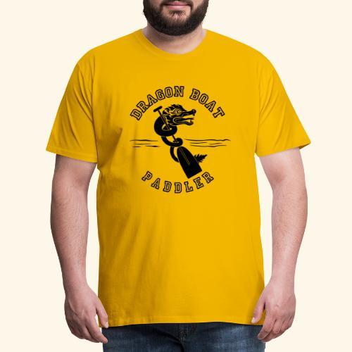 DragonPaddler - Maglietta Premium da uomo