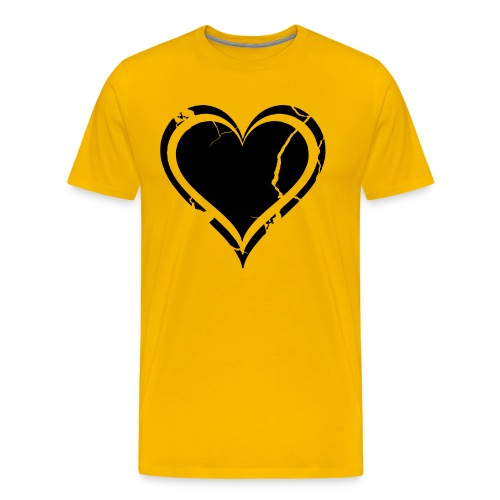 Heart - Miesten premium t-paita