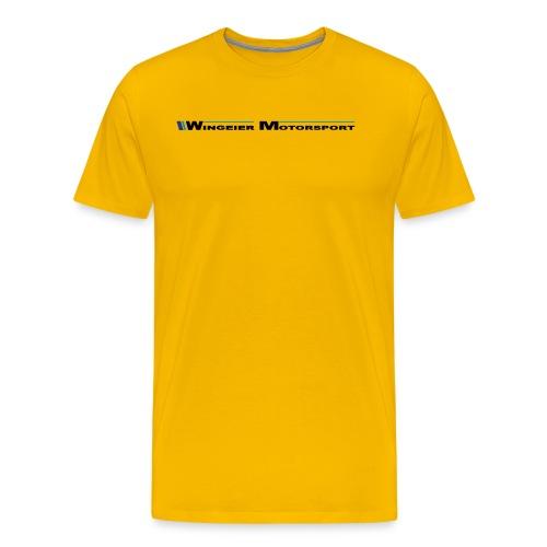 WINGEIER MOTORSPORT LOGO - Männer Premium T-Shirt