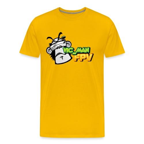 vic_man fpv oficial - Camiseta premium hombre