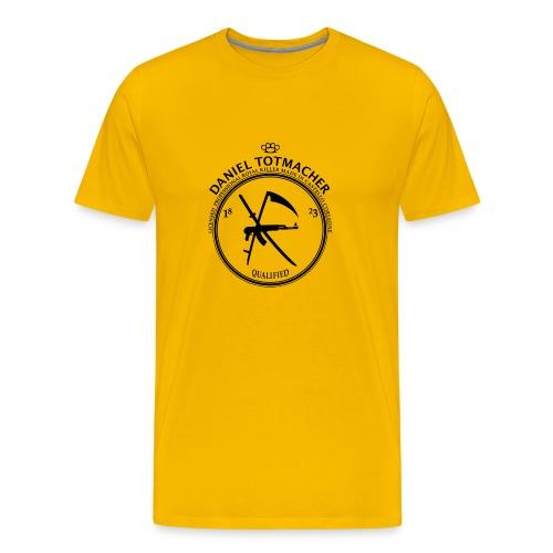 DANIEL TOTMACHER Label - Männer Premium T-Shirt