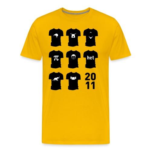 Shirt van 2011 - Mannen Premium T-shirt