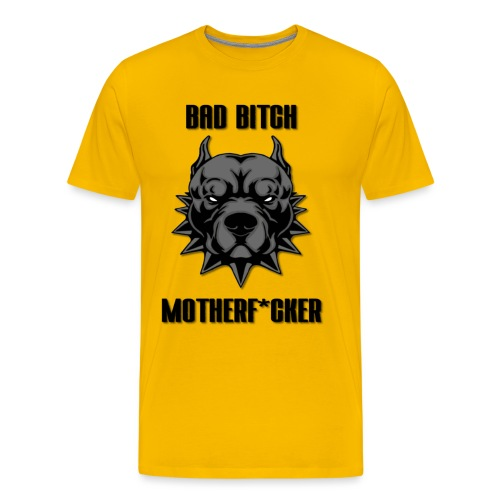 BAD_PITBULL - Männer Premium T-Shirt