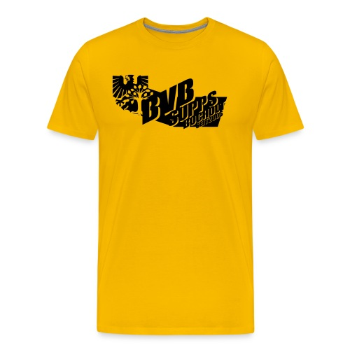 Supps-Bocholt groß - Männer Premium T-Shirt