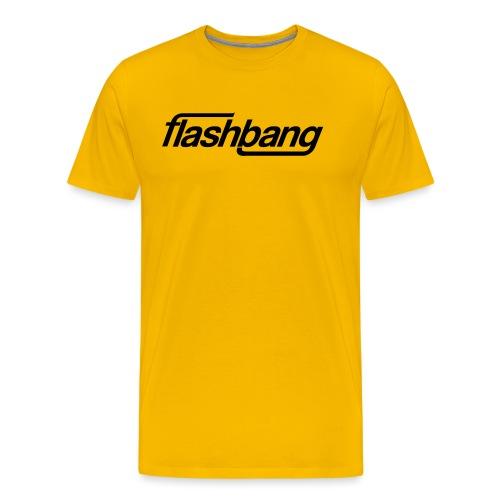 FlashBang Enkel - 50kr Donation - Premium-T-shirt herr