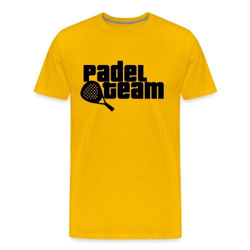 Padel team - Camiseta premium hombre