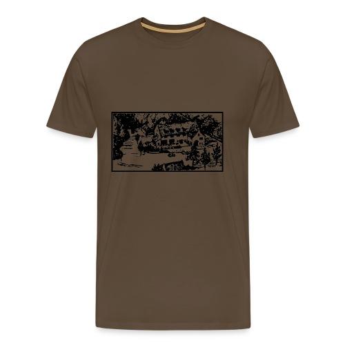 Hotel Paping - Mannen Premium T-shirt
