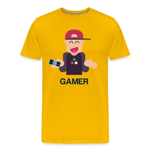 Friendly Gamer - T-shirt Premium Homme