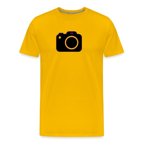 FM camera - Men's Premium T-Shirt