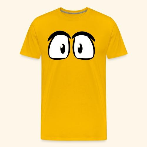 Comic Augen - Männer Premium T-Shirt