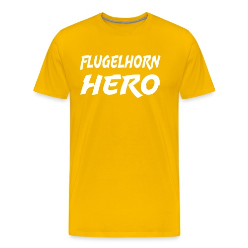 Flugelhorn Hero - Men's Premium T-Shirt