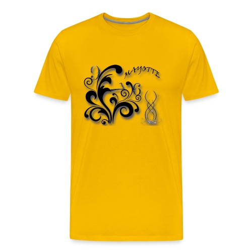 logo mayotte - T-shirt Premium Homme