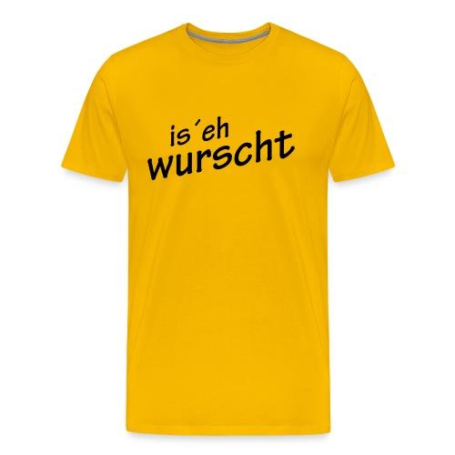 wurscht - Männer Premium T-Shirt