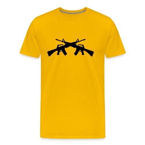 Guns - Männer Premium T-Shirt