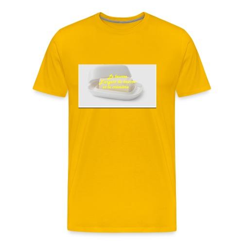 Le beurre - T-shirt Premium Homme