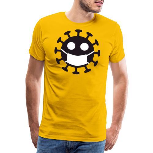 Corona Law - Herre premium T-shirt
