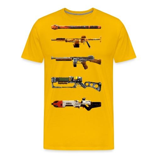 Pixel Weapon Progress - Men's Premium T-Shirt