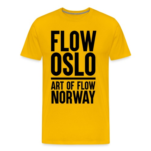 Flow Oslo Tribe Supporter - Premium T-skjorte for menn