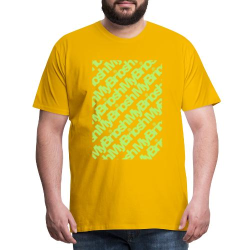 PatternMYB - Maglietta Premium da uomo