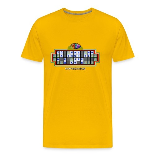 Jackie Weaver Wheel of Fortune - Men's Premium T-Shirt