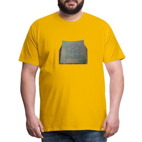 Three Ships mural, Hull - Men's Premium T-Shirt