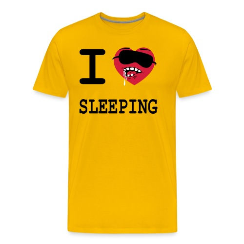 i_love_sleeping - T-shirt Premium Homme