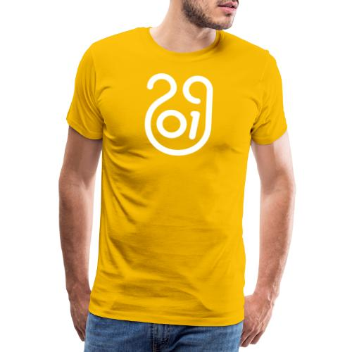 Année du cochon de terre - T-shirt Premium Homme
