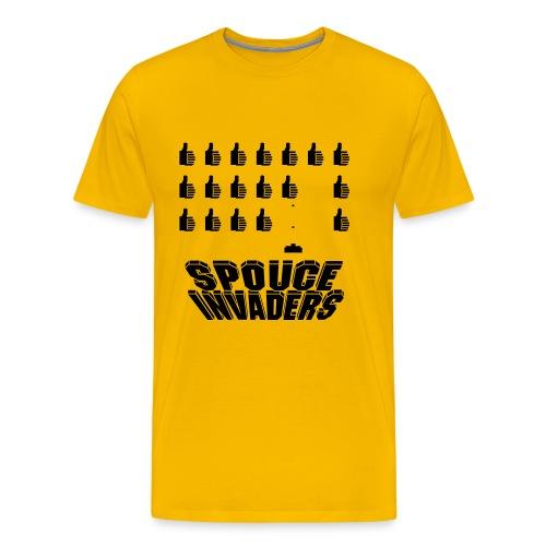 spouceinvaders - T-shirt Premium Homme