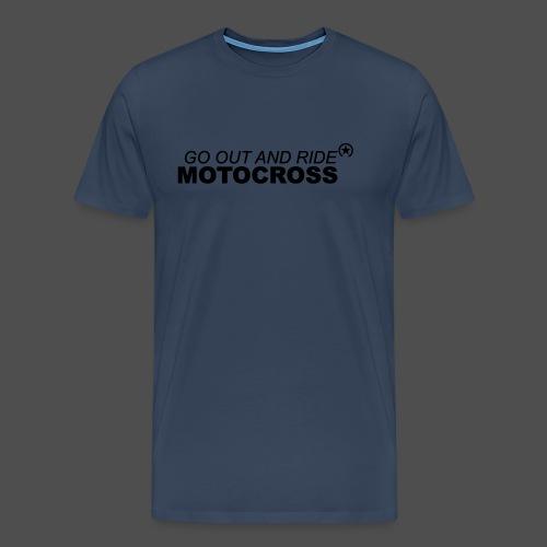 ride motocross bk - Männer Premium T-Shirt