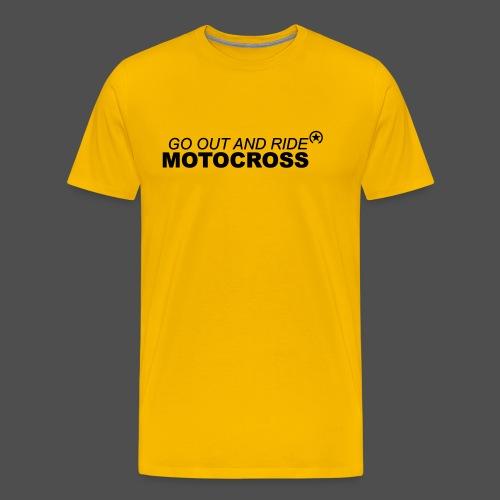 ride motocross bk - Men's Premium T-Shirt