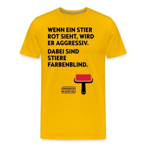 Stier - Männer Premium T-Shirt