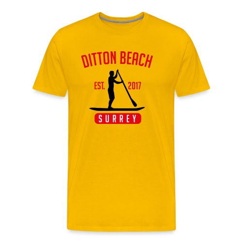 Ditton Beach Logo Final - Men's Premium T-Shirt