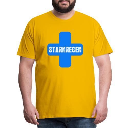 STARKREGEN BLUE C 2019 png - Männer Premium T-Shirt