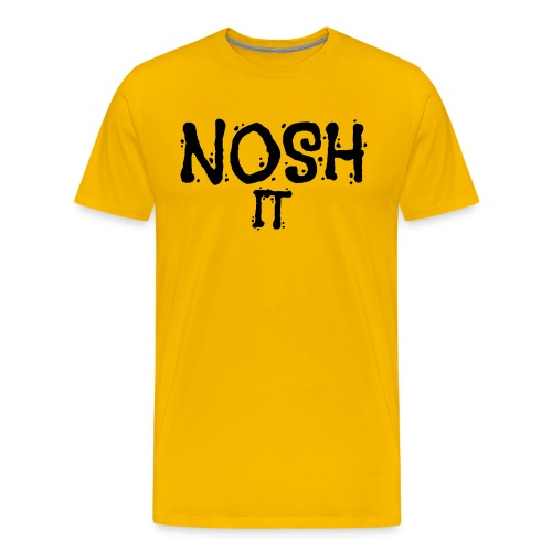 NOSH IT - Mannen Premium T-shirt