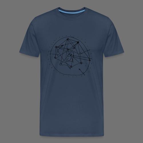 Strategia SEO nr 1 (czarny) - Koszulka męska Premium