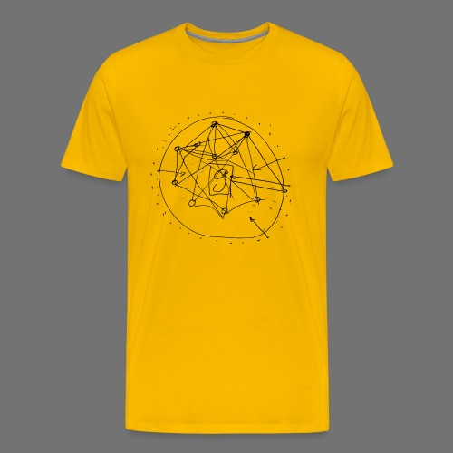 SEO Strategy No.1 (black) - Männer Premium T-Shirt