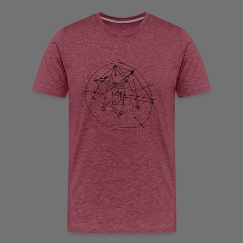 SEO Strategy No.1 (black) - Men's Premium T-Shirt
