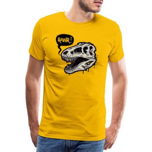 DINO RAWR 1 - Camiseta premium hombre