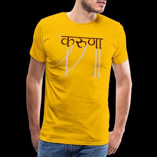 mitgefühl - Männer Premium T-Shirt